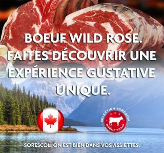 Faites vivre à vos clients une expérience gustative unique avec l'entrecôte Wild Rose.